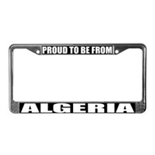 Algeria License Plate Frame