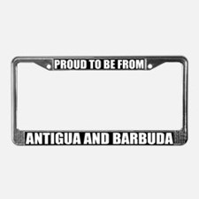 Antigua and Barbuda License Plate Frame