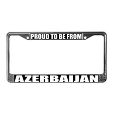 Azerbaijan License Plate Frame