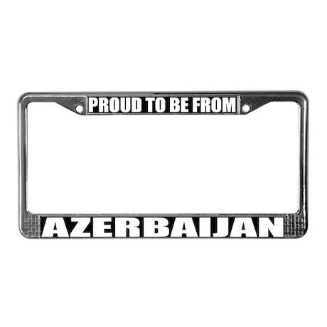 Azerbaijan License Plate Frame