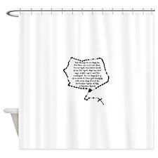 Boondocks Prayer Shower Curtain