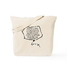 Boondocks Prayer Tote Bag