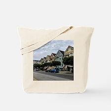 Unique Painted ladies san francisco Tote Bag
