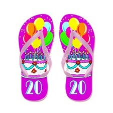 GORGEOUS 20TH Flip Flops