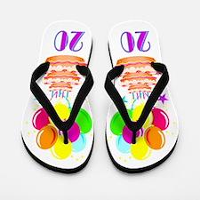 WONDERFUL 20TH Flip Flops