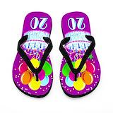 20 yr old Flip Flops