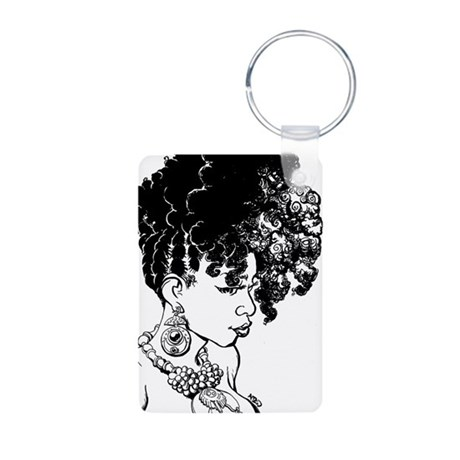 Lunaversal Aluminum Photo Keychain