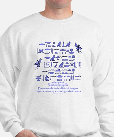 Affairs of Dragons (Egyptian) Sweater
