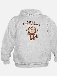 Papas Little Monkey Hoodie