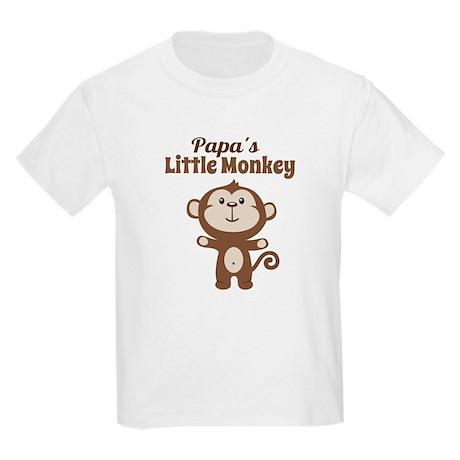 Papas Little Monkey T-Shirt