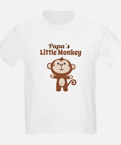 Papas Little Monkey T-Shirt