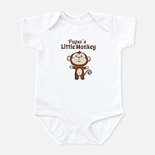 Papas Little Monkey Body Suit