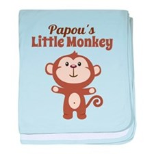 Papous Little Monkey baby blanket