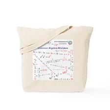 Common Algebra & Calculus Mistakes Tote Bag