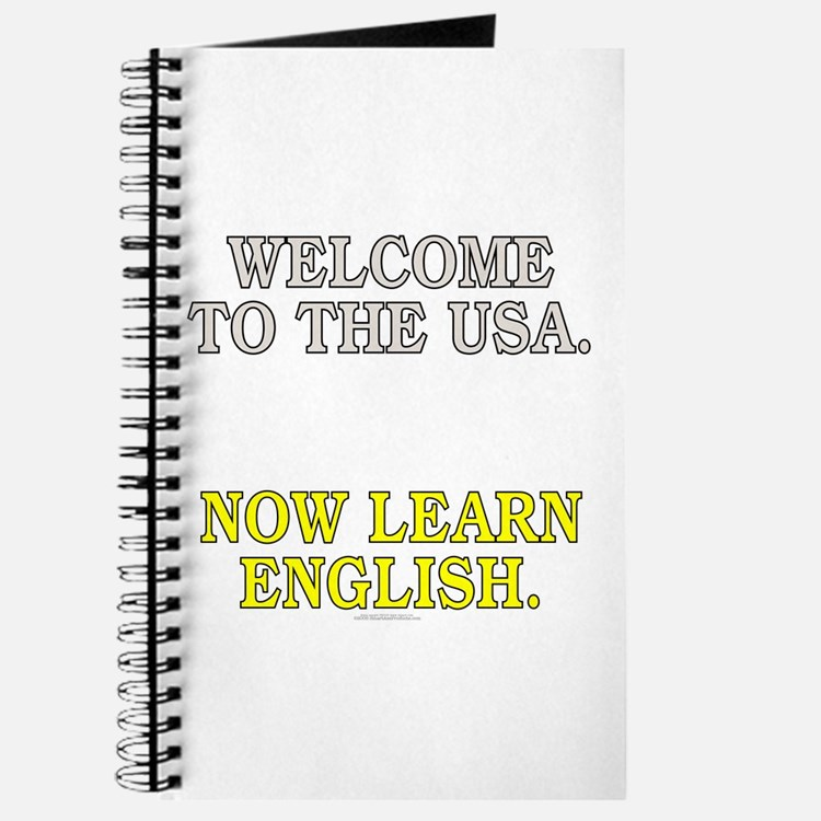 Welcome to the USA... (unlined journal)