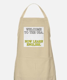 Welcome to the USA... (BBQ apron)