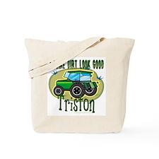 Triston Tractor Tote Bag