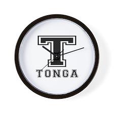 Tonga Designs Wall Clock