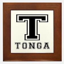 Tonga Designs Framed Tile