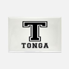 Tonga Designs Rectangle Magnet