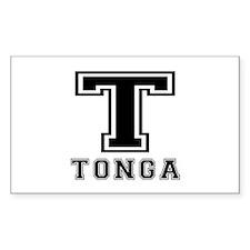 Tonga Designs Decal