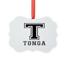 Tonga Designs Ornament