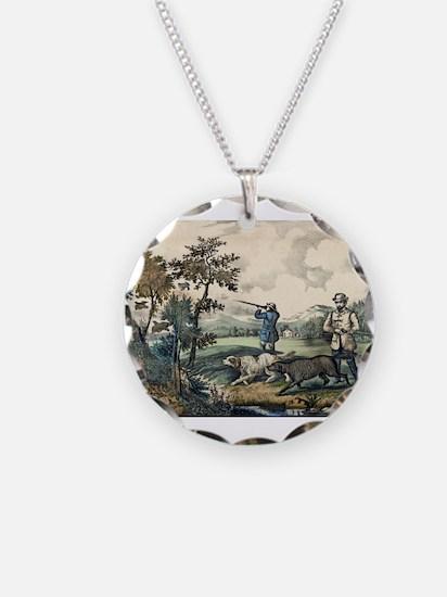 Quail shooting - 1907 Necklace