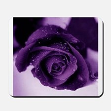 Purple Rose Mousepad