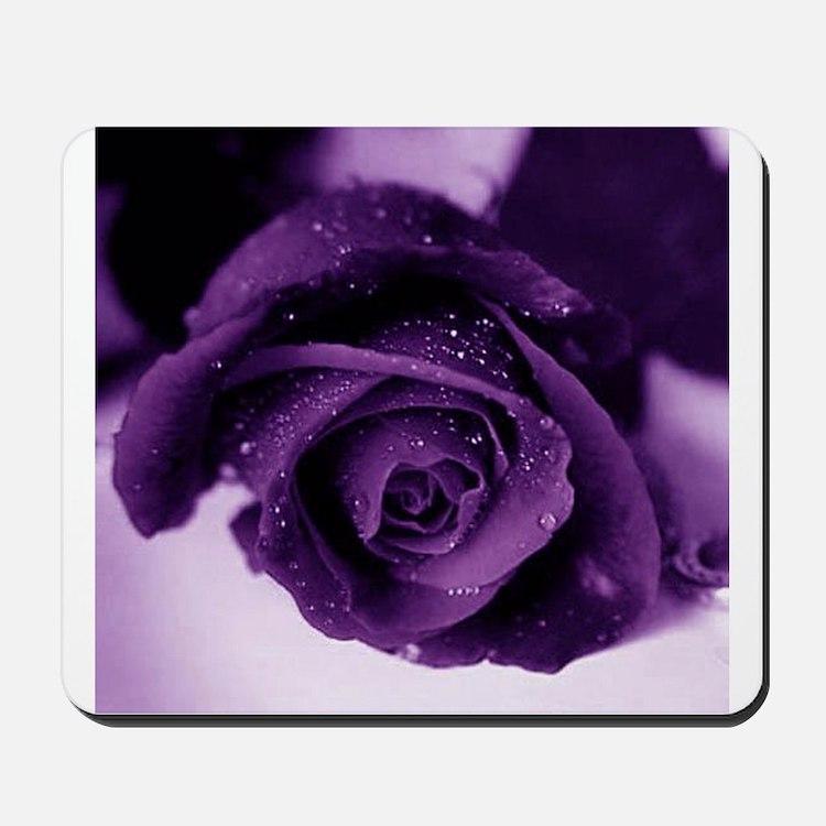 Purple Rose Mousepad