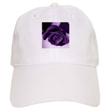 Purple Rose Baseball Cap