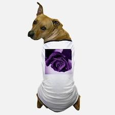 Purple Rose Dog T-Shirt