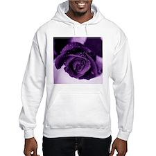 Purple Rose Hoodie