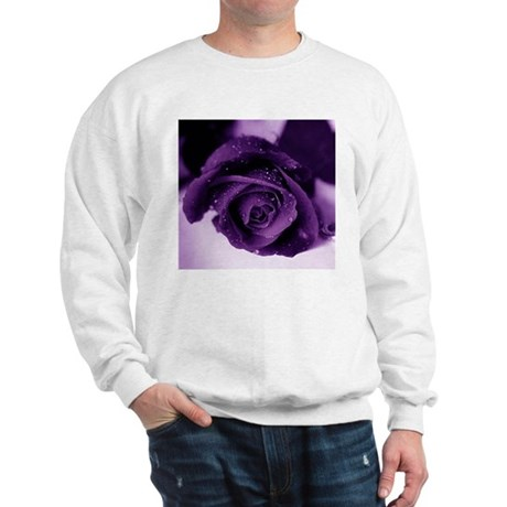 Purple Rose Sweatshirt