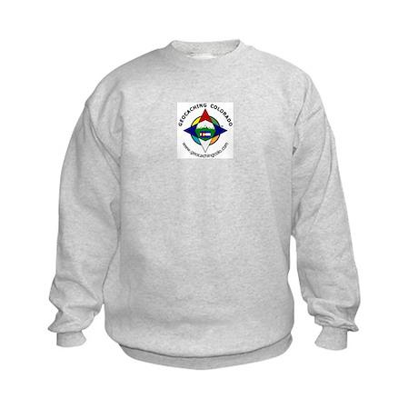 Geocaching Colorado (GCCO) Kids Sweatshirt