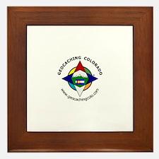 Geocaching Colorado (GCCO) Framed Tile