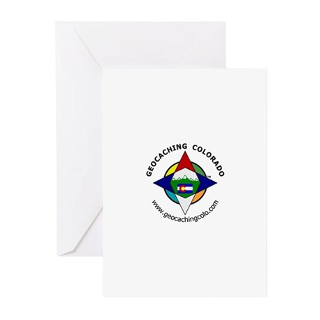 Geocaching Colorado (GCCO) Greeting Cards (Package
