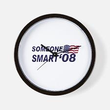 Someone Smart '08! Wall Clock