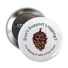 Anti Environmentalist Conservative Button
