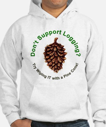 Anti Environmentalist Conservative (Front) Hoodie