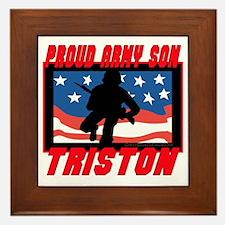 Triston Proud Son Framed Tile