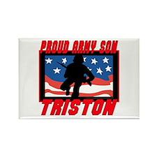 Triston Proud Son Rectangle Magnet