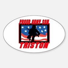 Triston Proud Son Oval Decal