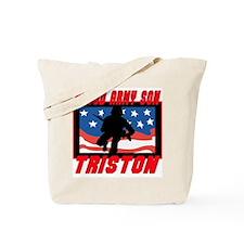Triston Proud Son Tote Bag