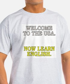 Welcome to the USA... (light t-shirt)