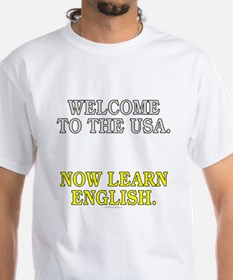 Welcome to the USA... (white t-shirt)