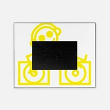 DJman Yellow Picture Frame