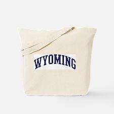 Blue Classic Wyoming Tote Bag