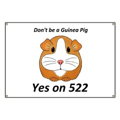 Yes on 522 GMO Labeling Banner