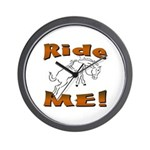 Ride Me Wall Clock