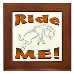 Ride Me Framed Tile